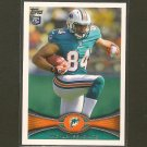 MICHAEL EGNEW 2012 Topps Rookie Card RC - Dolphins & Missouri Tigers