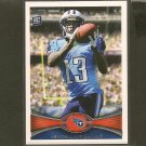 KENDALL WRIGHT 2012 Topps Rookie Card RC - Titans & Baylor Bears