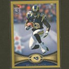 BRIAN QUICK 2012 Topps Gold Border # 366/2012 - St. Louis Rams & Appalachian State