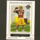 AARON RODGERS 2012 Topps Rookie REPRINT - Packers & Cal Golden Bears