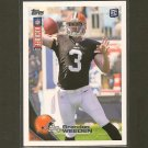 BRANDON WEEDEN 2012 Topps Kickoff Rookie Card RC - Browns & Oklahoma State