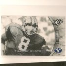 STEVE YOUNG - 2012 SPx Shadow Slots - 49ers & BYU Cougars