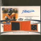 RONNIE HILLMAN 2012 Topps Prime Autograph Rookie Card Relic RC - Broncos & San Diego State Aztecs