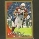 ANTHONY BECHT 2010 Topps GOLD Parallel - Cardinals, Buccaneers, Jets & Mountaineers