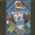 EDDIE GEORGE - 1996 Collector's Edge Advantage RC - Titans, Oilers & Ohio State Buckeyes