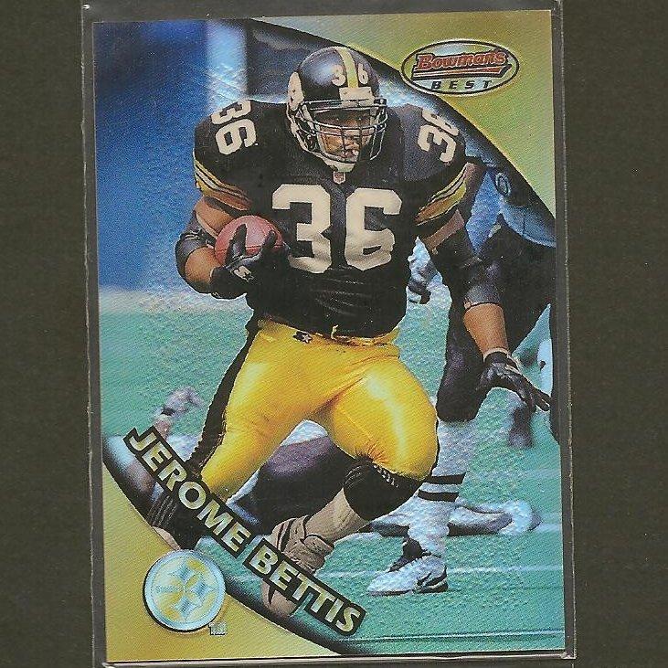 JEROME BETTIS - 1998 Bowman's Best REFRACTOR - Steelers