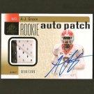 AJ A.J. GREEN 2011 SP Authentic Autograph 2 Color RC Rookie #30/299 - Bengals & Georgia Bulldogs