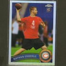 NATHAN ENDERLE 2011 Topps Chrome Refractor RC -  Chicago Bears & Idaho Vandals