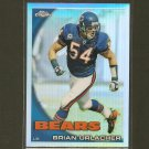 BRIAN URLACHER 2010 Topps Chrome Refractor -  Chicago Bears & New Mexico