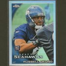 RUSSELL OKUNG 2010 Topps Chrome Refractor RC -  Seahawks & Oklahoma State