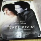 THE LAKE HOUSE Authentic Movie Poster - Double Sided - Keanu Reeves, Sandra Bullock - 2006