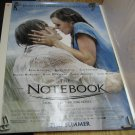 THE NOTEBOOK Authentic Movie Poster - Double Sided - Ryan Gosling, Rachel McAdams - 2004