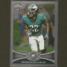 BRANDON BOYKIN 2012 Topps Chrome RC - Philadelphia Eagles & Georgia Bulldogs