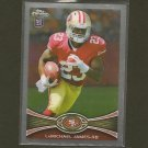 LaMICHAEL JAMES 2012 Topps Chrome RC - 49ers & South Carolina Gamecocks