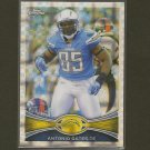 ANTONIO GATES 2012 Topps Chrome X-Fractor - Chargers & Kent State