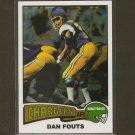 DAN FOUTS 2012 Topps Chrome Rookie REPRINT - San Diego Chargers