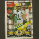 CHARLES WOODSON 2012 Topps Chrome X-Fractor - Packers & Michigan Wolverines