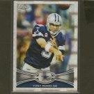 TONY ROMO 2012 Topps Chrome X-Fractor - Dallas Cowboys & Eastern Illinois
