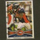 WILLIS McGAHEE 2012 Topps Chrome X-Fractor - Denver Broncos & Miami Hurricanes