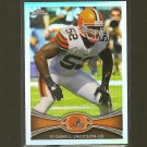 D'QWELL JACKSON 2012 Topps Chrome Refractor - Cleveland Browns & Maryland Terrapins