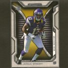 JARIUS WRIGHT 2012 Topps Strata Rookie RC -  Vikings & Arkansas Razorbacks