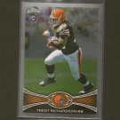 TRENT RICHARDSON 2012 Topps Chrome ROOKIE - RC - Cleveland Browns & Alabama Crimson Tide