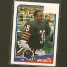 NEAL ANDERSON - 1988 Topps ROOKIE Card- Chicago Bears & Florida Gators