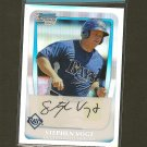 STEPHEN VOGT - 2011 Bowman Chrome Refractor RC - Tampa Bay Rays - #ed 516/799