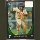 MICHAEL MARTINEZ  - 2011 Bowman Chrome Refractor - Philadelphia Phillies