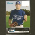 MATT MOORE - 2011 Bowman Topps 100 - Tampa Bay Rays