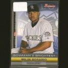 WILIN ROSARIO - 2011 Bowman's Brightest - Colorado Rockies