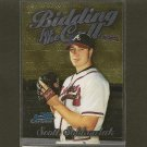 SCOTT SOBKOWIAK - 2000 Bowman Chrome Bidding For the Call - Atlanta Braves