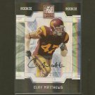 CLAY MATTHEWS 2009 Elite Autograph Rookie RC - Packers & USC Trojans #/299