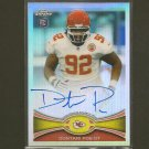 DONTARI POE 2012 Topps Chrome Autograph Refractor #/178 - Rookie RC - Chiefs & Memphis Tigers