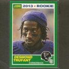 DESMOND TRUFANT 2013 Score Rookie Card - Falcons & Fresno State Bulldogs