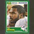 EJ E.J. MANUEL 2013 Score Rookie Card - Bills & Florida State Seminoles