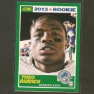 THEO RIDDICK 2013 Score Rookie Card - Lions & Notre Dame Fighting Irish