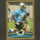 KENYON BARNER 2013 Topps Gold Rookie Card - Panthers & Oregon Ducks