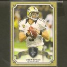 DREW BREES 2013 Topps Legends in the Making - Saints & Purdue Boilermakers