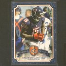 BRANDON MARSHALL 2013 Topps Legends in the Making - NY Jets, Bears & Central Florida