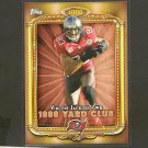 VINCENT JACKSON 2013 Topps 1,000 Yard Club - Buccaneers & Northern Colorado