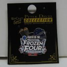 2010 NCAA Hockey FROZEN FOUR Wincraft Site Pin - R.I.T., BC Eagles, Wisconsin, Miami Redhawks