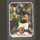 WES WELKER 2013 Topps Legends in the Making - Broncos & Texas Tech