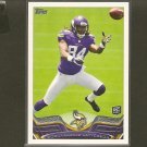 CORDARRELLE PATTERSON 2013 Topps Rookie Card RC - Vikings & Tennessee Volunteers