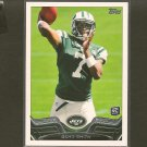 GENO SMITH 2013 Topps Rookie Card RC - NY Jets & West Virginia Mountaineers