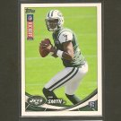 GENO SMITH 2013 Topps Rookie Kickoff RC - NY Jets & West Virginia Mountaineers