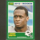 GENO SMITH 2013 Score Rookie Card RC - NY Jets & West Virginia Mountaineers