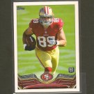 VANCE McDONALD 2013 Topps Rookie Card RC - Steelers & Rice Owls