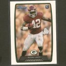EDDIE LACY 2013 Bowman Rookie Card RC - Packers & Alabama Crimson Tide