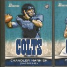 CHANDLER HARNISH 2012 Bowman Rookie Card RC - Indianapolis Colts & Northern Illinois